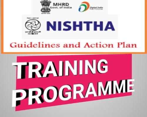 NISHTAH TRAINING PROGRAMME 2020