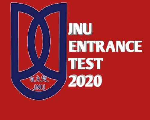 JNU ENTRANCE TEST 2020