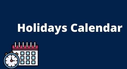 UP Madhymik holiday Calendar 2021, UP Teacher holiday list