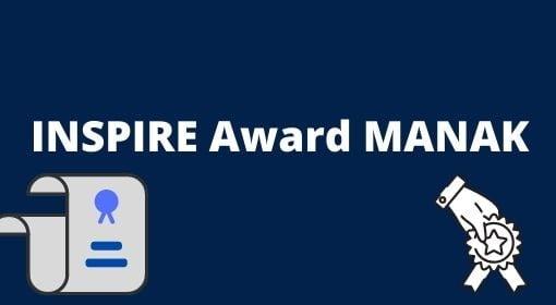Inspire Award Manak list 2020-21, Inspire Award manak kya hai