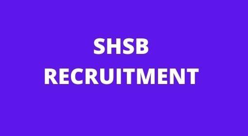 Bihar SHSB Lab Technician Vacancy 2021, Online application Date-
