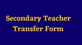 UP Aided Madhyamik Teacher Transfer Online Apply | UP Aided Secondary Teacher Transfer Application Form 2021